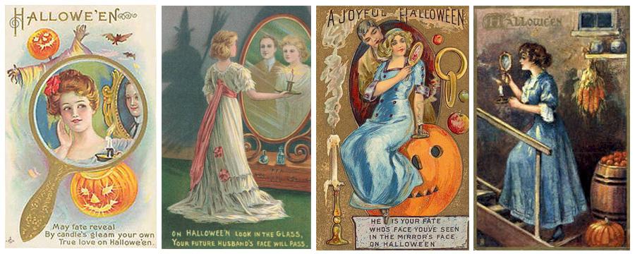 mirror-victorian-halloween-postcards