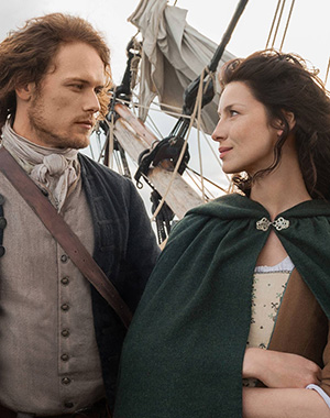 Claire and Jamie Outlander