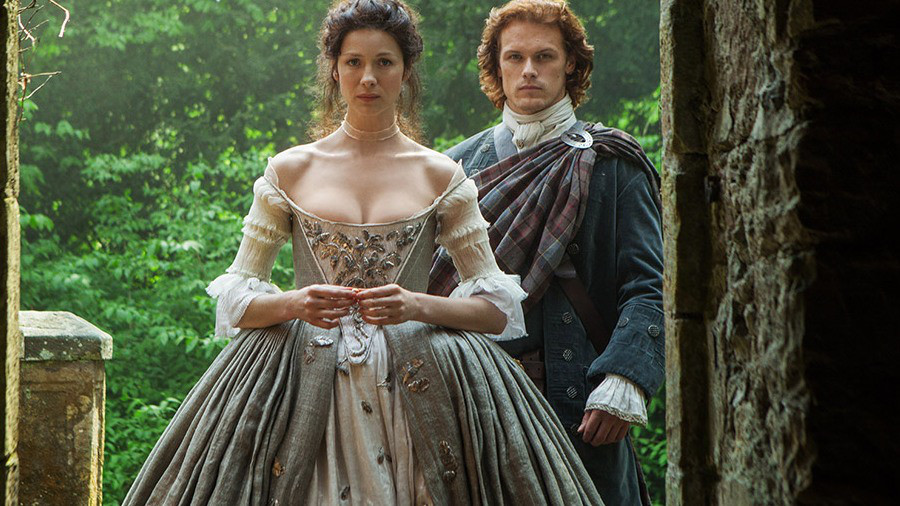 Outlander season 1 wedding dress