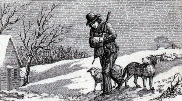 famer-oak-with-dog-bw