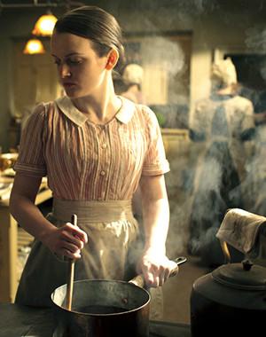 Daisy Downton Abbey kitchen