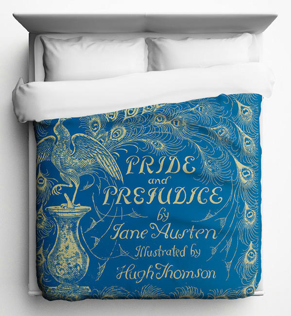 Pride and Prejudice duvet
