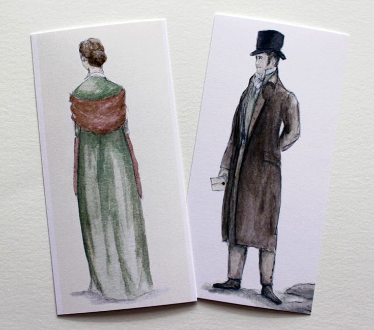 Jane Austen bookmarks