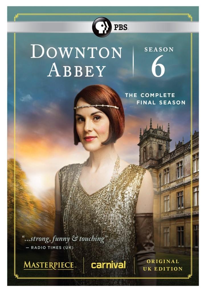 Downton Abbey Final Season 6 DVD