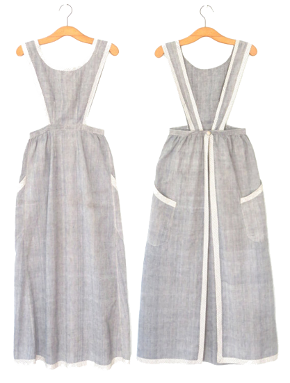 Apron Pinafore Patterns & Ideas • Willow and Thatch