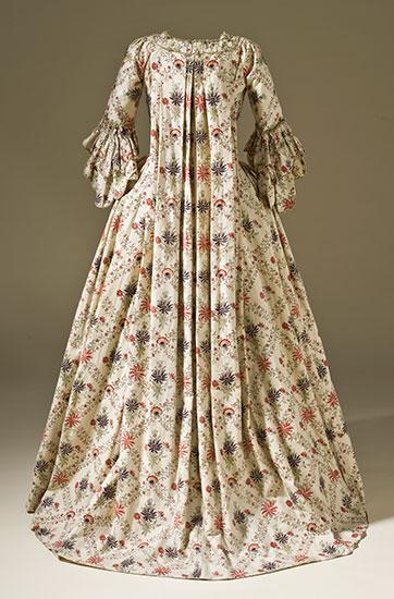 Robe-Francaise-block-print-1770