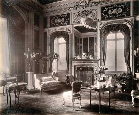 Interior Of Highclere Courtesy Lawrences