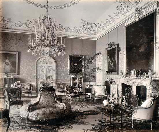 The Drawing Room At Highclere Castle Courtesy Of Lawrences
