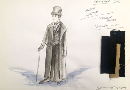 Interview: 'Gentleman Jack' Costume Designer Tom Pye